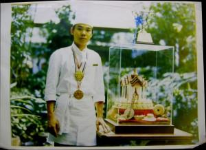 เชฟผู้สอนโรงเรียนขนมอบ Patisserie Baking School กับรางวัลพระราชทานสมเด็จพระเทพรัตนฯ
